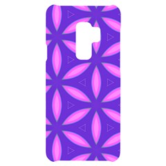 Purple Samsung S9 Plus Black Uv Print Case
