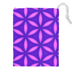 Purple Drawstring Pouch (xxxl)