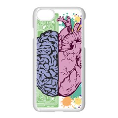 Brain Heart Balance Emotion Iphone 7 Seamless Case (white) by Sudhe