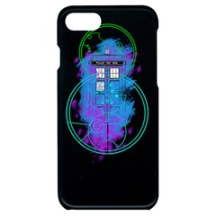 Tattoo Tardis Seventh Doctor Doctor Iphone 7/8 Black Uv Print Case by Sudhe