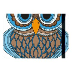 Owl Drawing Art Vintage Clothing Blue Feather Apple Ipad Pro 10 5   Flip Case by Sudhe