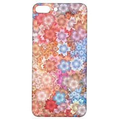 Art Beautiful Flowers Flames Generative Art Iphone 7/8 Plus Soft Bumper Uv Case by Wegoenart
