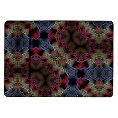 Abstract Animated Ornament Background Fractal Art Samsung Galaxy Tab 10 1  P7500 Flip Case by Wegoenart