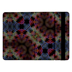 Abstract Animated Ornament Background Fractal Art Samsung Galaxy Tab Pro 12 2  Flip Case by Wegoenart