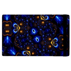 Fun Photo Amazing Art Kaleidoscope Mosaic Apple Ipad 2 Flip Case by Wegoenart
