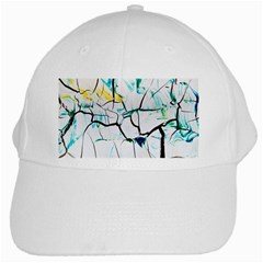 White And Multicolored Illustration White Cap by Wegoenart