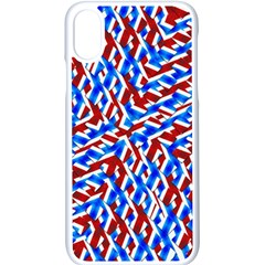 Art Unique Design Kaleidoscope Iphone X Seamless Case (white)