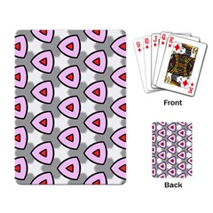Patterns Seamlessly Texture Playing Cards Single Design (rectangle)