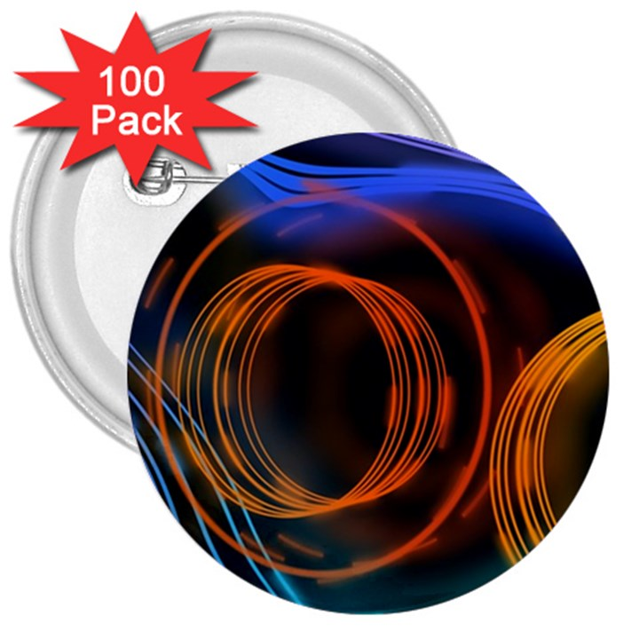 Research Mechanica 3  Buttons (100 pack)