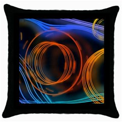 Research Mechanica Throw Pillow Case (black)