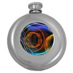 Research Mechanica Round Hip Flask (5 oz) Front