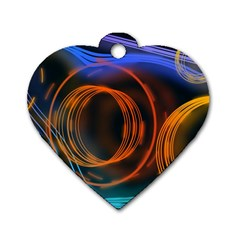 Research Mechanica Dog Tag Heart (two Sides)