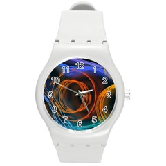 Research Mechanica Round Plastic Sport Watch (m)