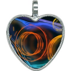 Research Mechanica Heart Necklace