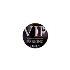 Vip Parking Only 1  Mini Magnets
