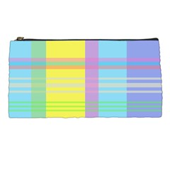 Easter Background Easter Plaid Pencil Cases