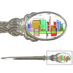 Business Finance Statistics Graphic Letter Opener by Simbadda