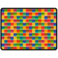 Background Colorful Abstract Fleece Blanket (large)  by Simbadda