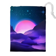 Mountain Sunrise Mountains Sunrise Drawstring Pouch (xxxl)