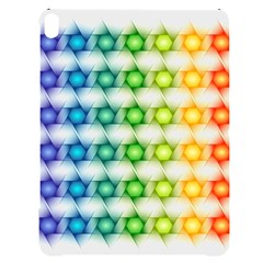 Background Colorful Geometric Apple Ipad Pro 12 9   Black Uv Print Case by Simbadda