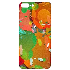 Background Colorful Abstract Iphone 7/8 Plus Soft Bumper Uv Case by Simbadda