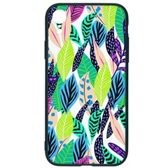 Leaves Drawing Pattern Nature Iphone Xr Soft Bumper Uv Case