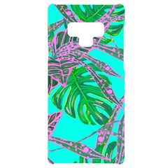 Painting Oil Leaves Reason Pattern Samsung Note 9 Black Uv Print Case  by Simbadda