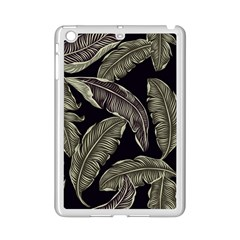 Jungle Leaves Tropical Pattern Ipad Mini 2 Enamel Coated Cases by Simbadda