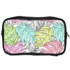 Leaves Tropical Plant Summer Toiletries Bag (one Side)