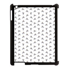 Cycling Motif Design Pattern Apple Ipad 3/4 Case (black)
