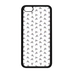 Cycling Motif Design Pattern Iphone 5c Seamless Case (black)