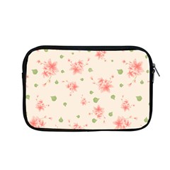 Pink Flowers Pattern Spring Nature Apple Macbook Pro 13  Zipper Case