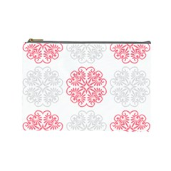 Cute Floral Design Cosmetic Bag (large) by TimelessFashion