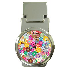 Flower Mix Money Clip Watches by TimelessFashion