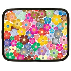 Flower Mix Netbook Case (xxl) by TimelessFashion