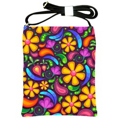 Flower Power! Shoulder Sling Bag by TimelessFashion