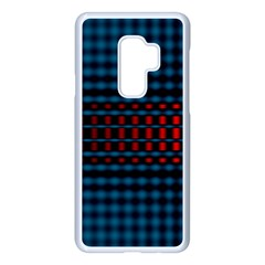 Signal Background Pattern Light Texture Samsung Galaxy S9 Plus Seamless Case(white) by Sudhe