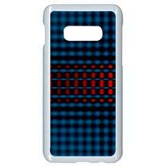 Signal Background Pattern Light Texture Samsung Galaxy S10e Seamless Case (white) by Sudhe