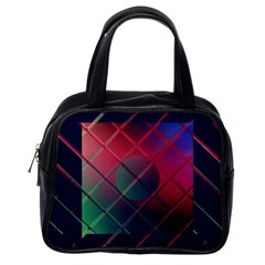 Fractal Artwork Abstract Background Classic Handbag (one Side)