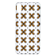 Pattern Orange Iphone X/xs Soft Bumper Uv Case