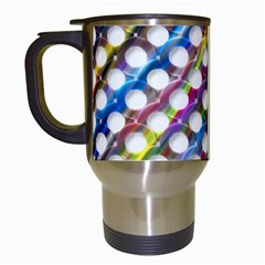 Rings Geometric Circles Random Travel Mugs (white)