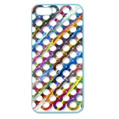 Rings Geometric Circles Random Apple Seamless Iphone 5 Case (color) by HermanTelo