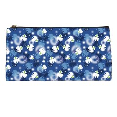 White Flowers Summer Plant Pencil Cases