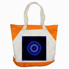 Digital Art Background Pink Blue Accent Tote Bag by Sudhe
