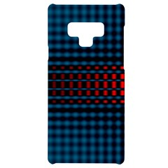 Signal Background Pattern Light Texture Samsung Note 9 Black Uv Print Case  by Sudhe