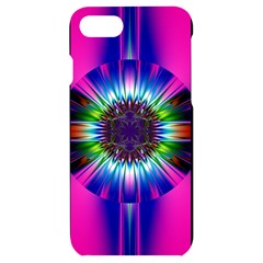 Abstract Art Fractal Creative Pink Iphone 7/8 Black Uv Print Case by Sudhe
