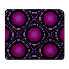 Abstract Background Design Purple Large Mousepads