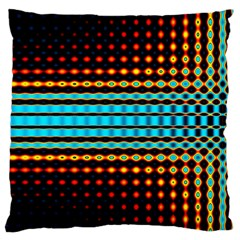 Signal Background Pattern Light Large Cushion Case (two Sides)