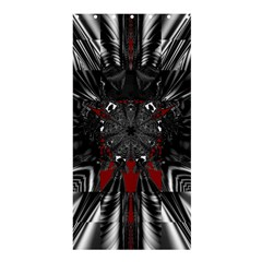 Abstract Artwork Art Fractal Shower Curtain 36  X 72  (stall)