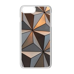 3d Abstract  Pattern Iphone 8 Plus Seamless Case (white)